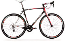 Merida Cyclo Cross Carbon 907 Carbon wit (rood)